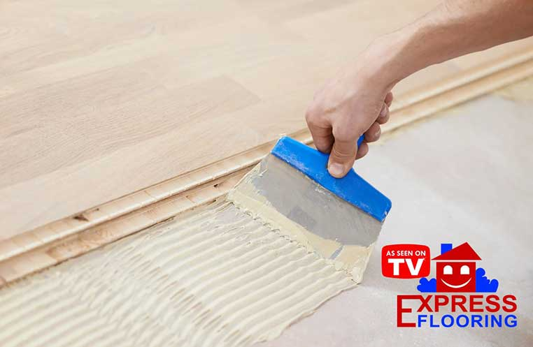 Remove Glue From Laminate Flooring, Adhesive Laminate Wood Flooring