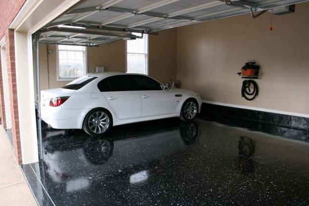 Garage Flooring Options Top 5, Wood Floor Garage