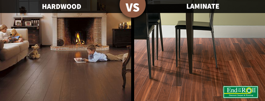 The Difference Between Hardwood And, What Is Laminate Hardwood Flooring