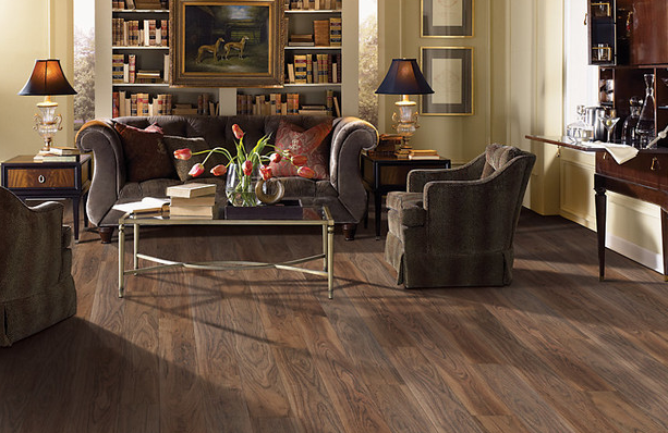 luxury vinyl flooring living room