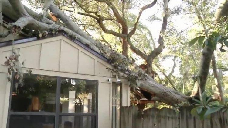 rebuilding after Hurricane Matthew