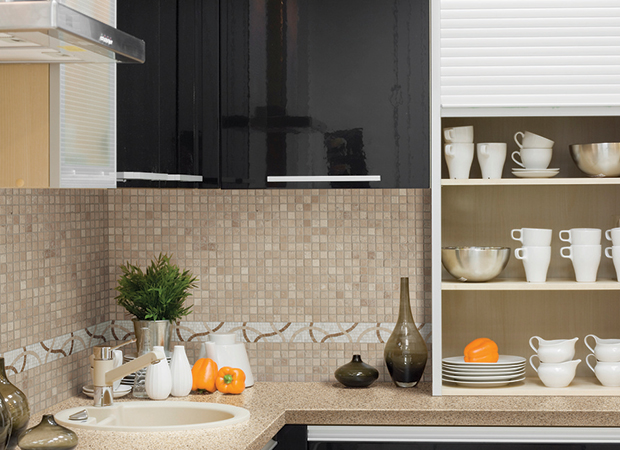 Tile backsplash in Jacksonville, FL from About Floors n More