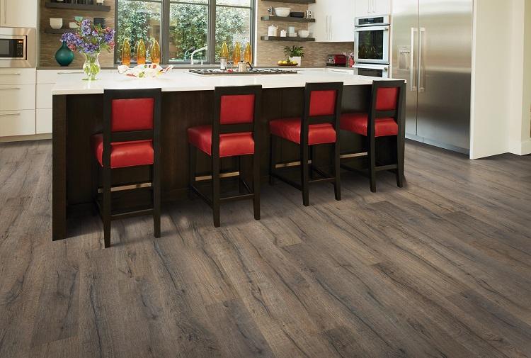Laminate flooring in a Philadelphia, PA kitchen