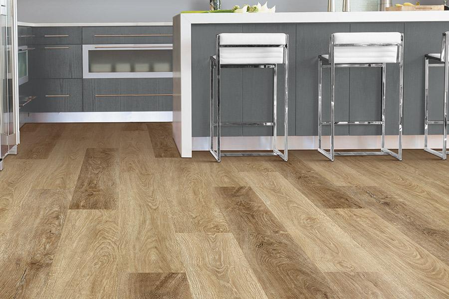Waterproof flooring in a Luck, WI kitchen