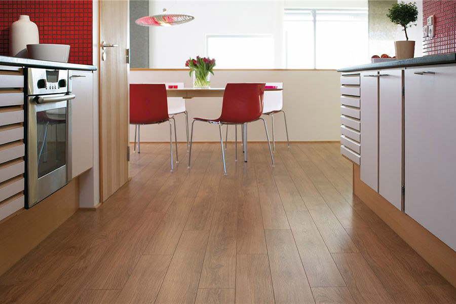 Vinyl plank flooring in a Maple Ridge, BC home