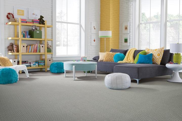 SmartStrand carpet in a Maple Ridge, BC living space