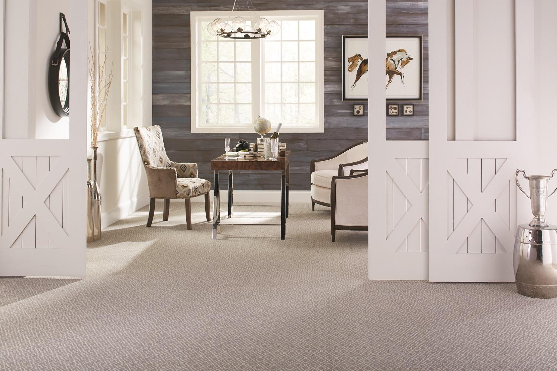 Carpet flooring in a Maple Ridge home entryway