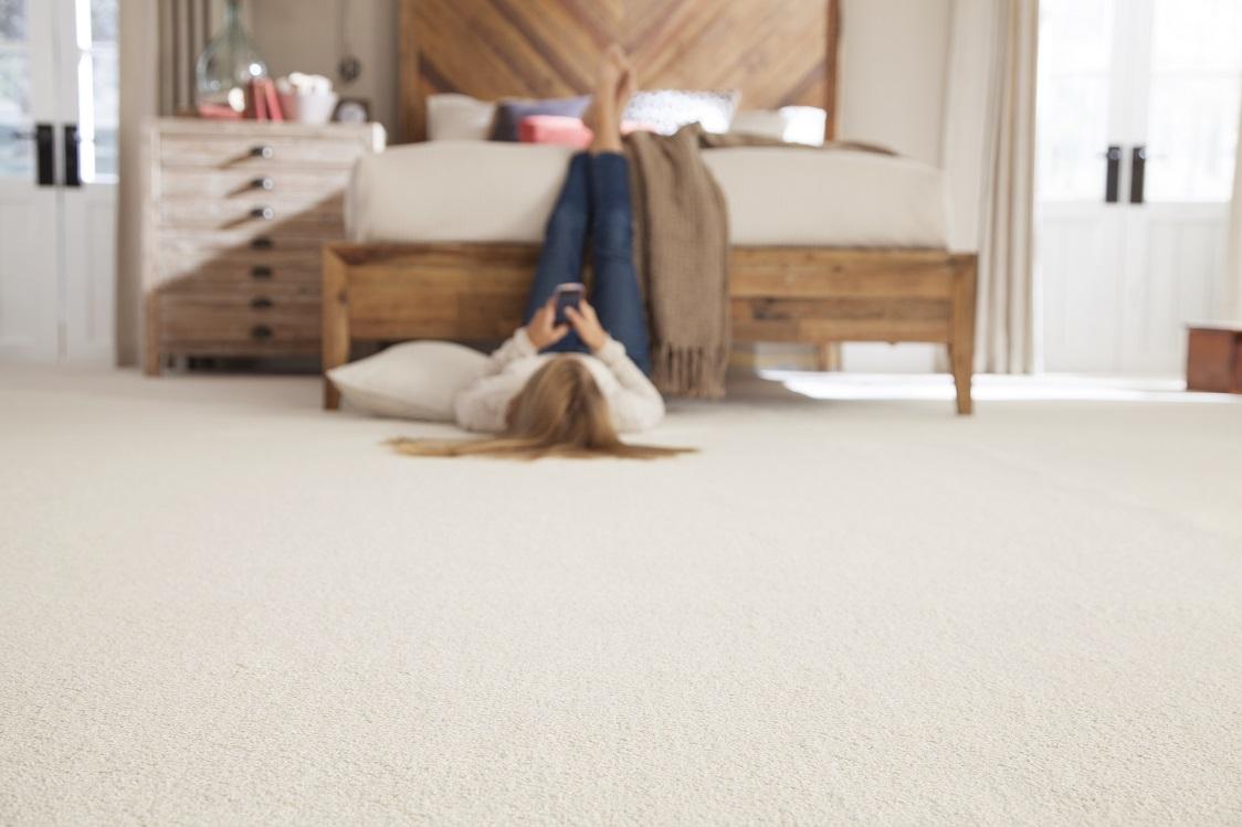 Carpet flooring in a Walnut Grove, BC home