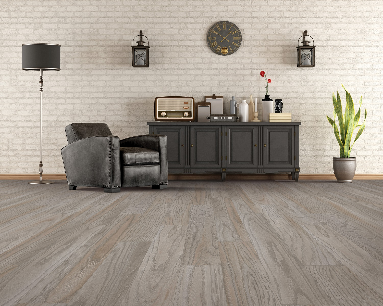 Vinyl plank flooring in a Port Moody home