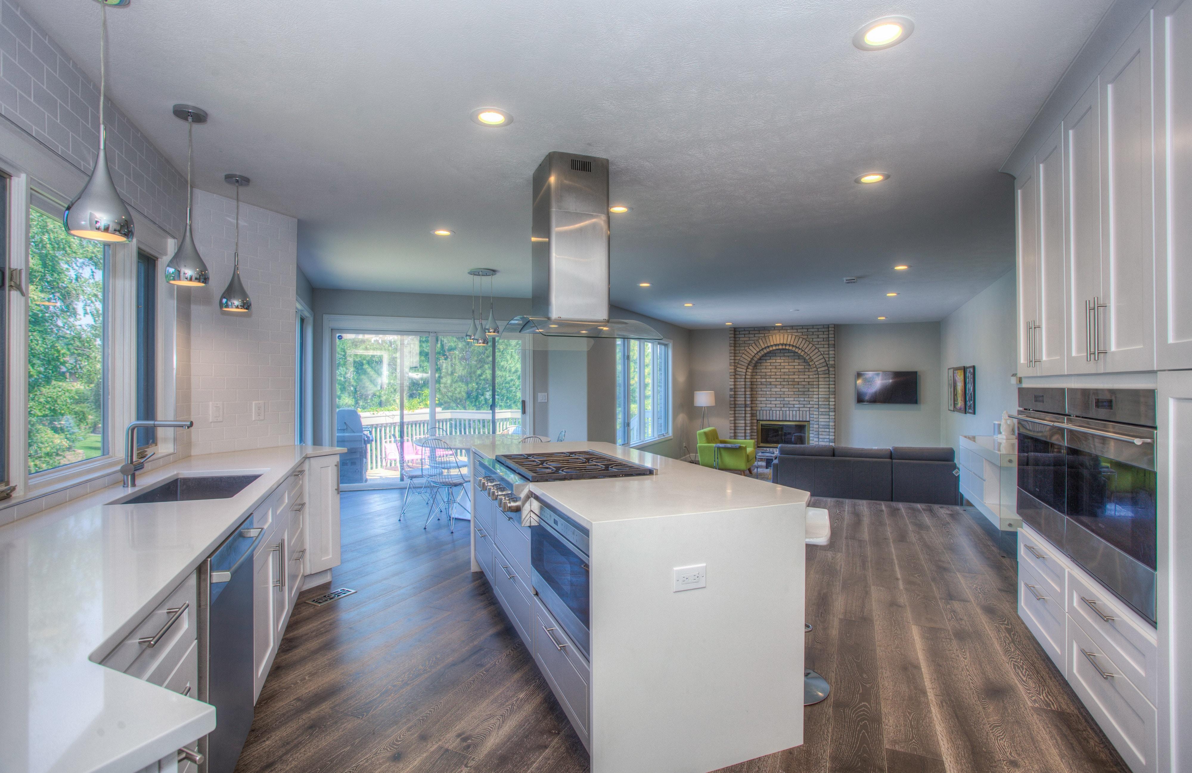 Waterproof flooring in an Ardmore, OK kitchen