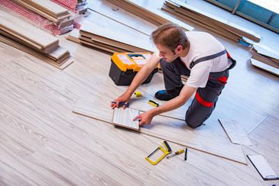 Professional flooring installation in a  Cedar City, UT home