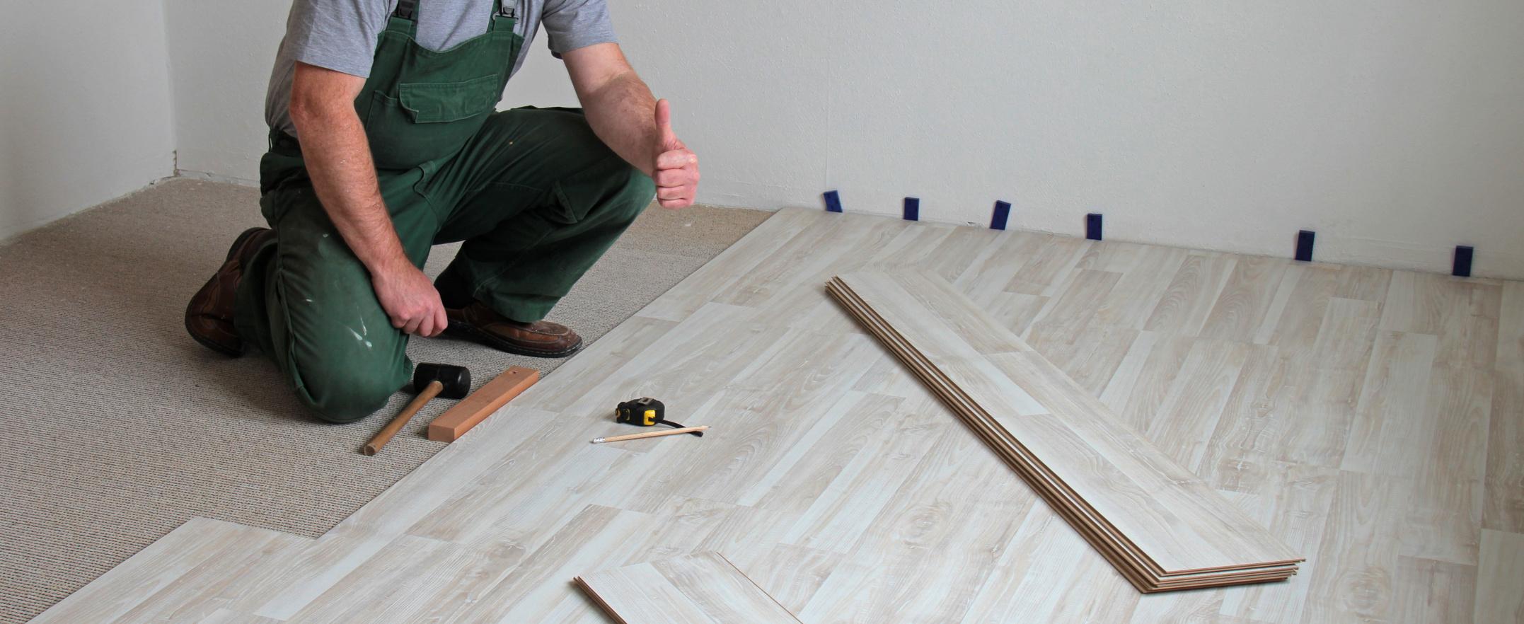 Flooring installation in a Murray, UT home