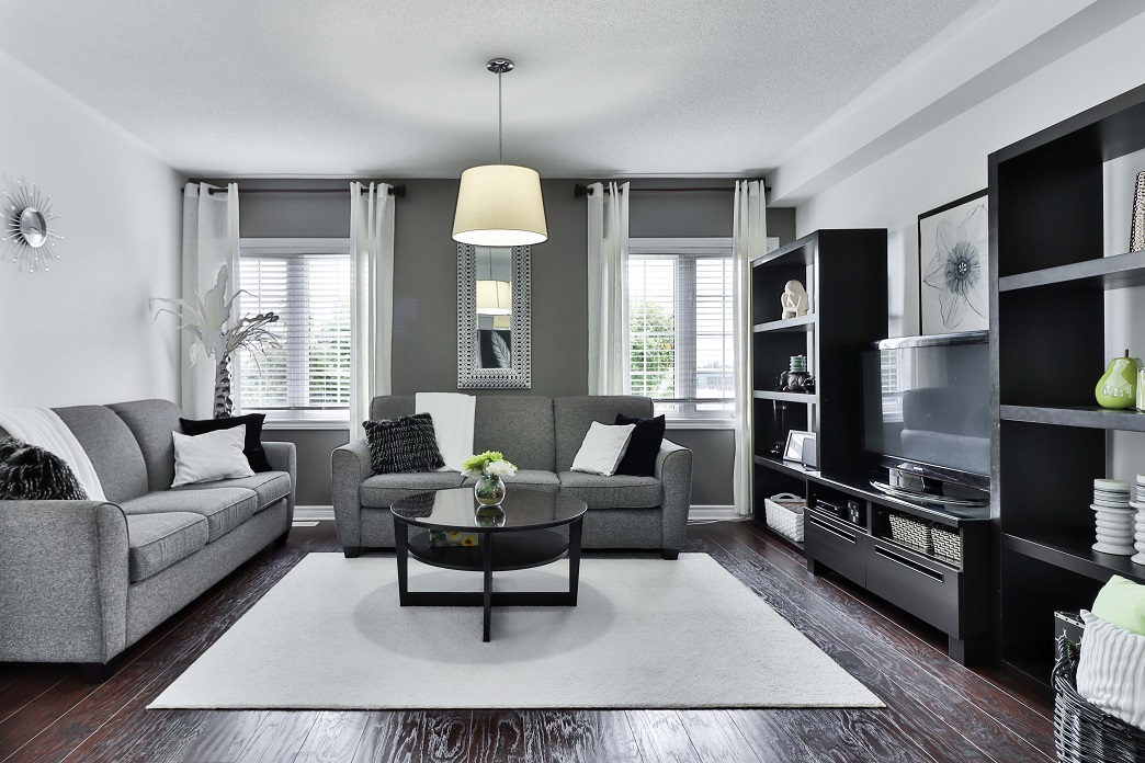 An image of a stylish living room.
