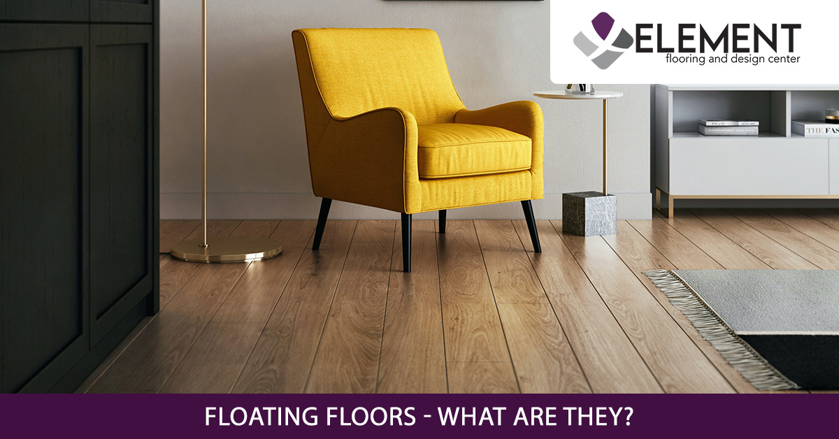 An image of a stylish living room with floating floors.
