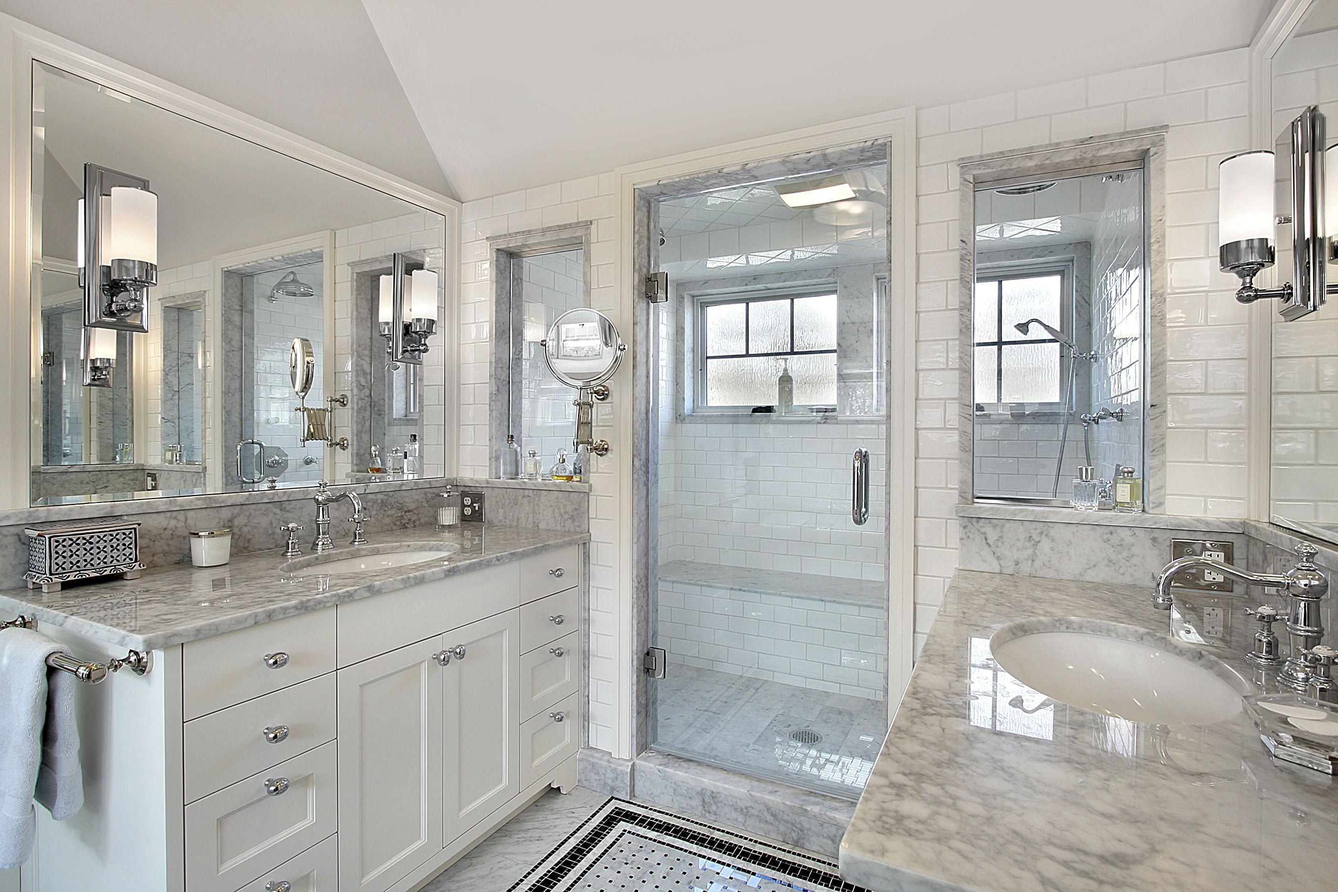 Bathroom tile in Metairie, LA from Floor de Lis