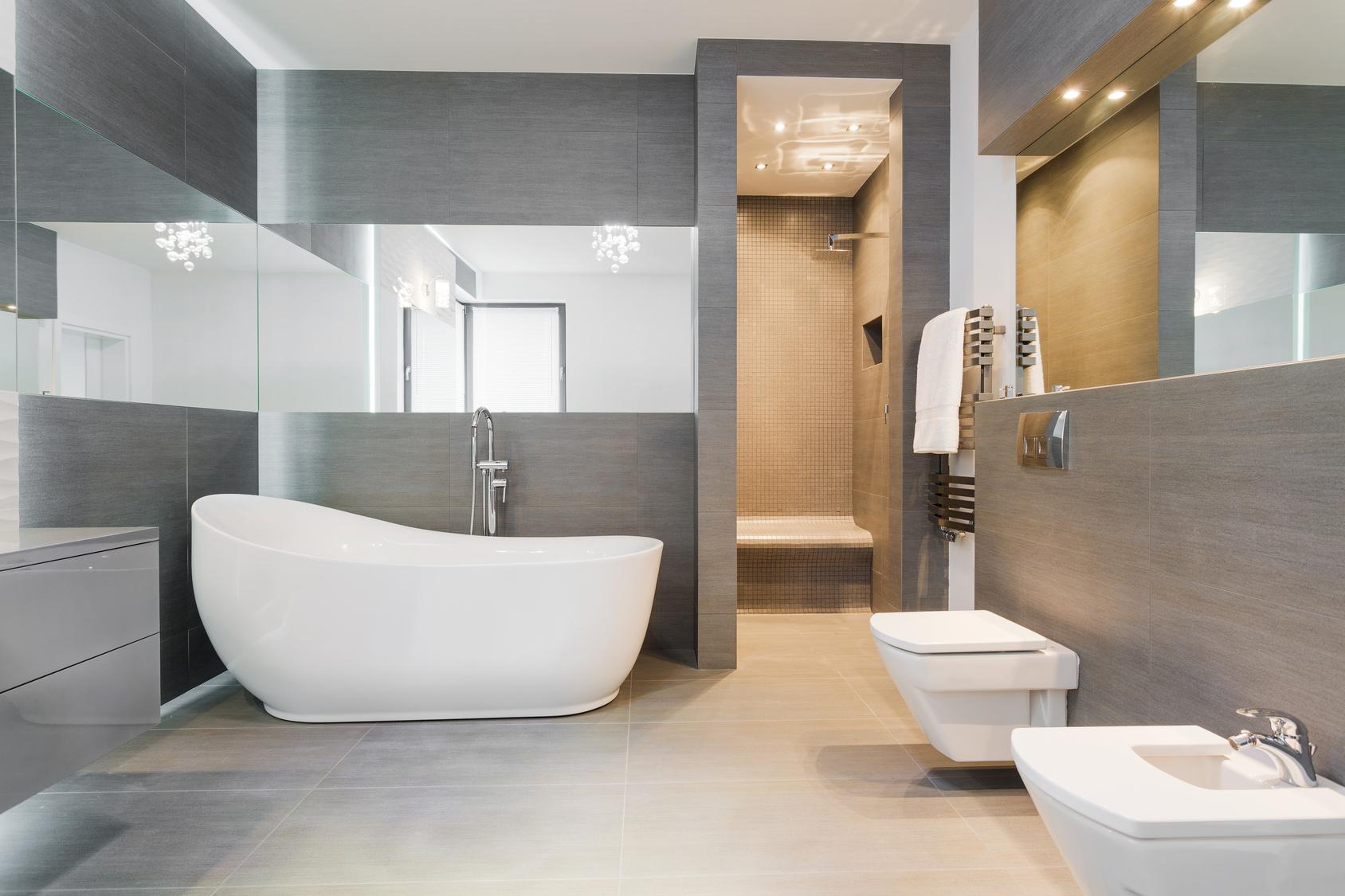 Bathroom remodel in Lebanon, PA,from Weaver's Carpet & Tile