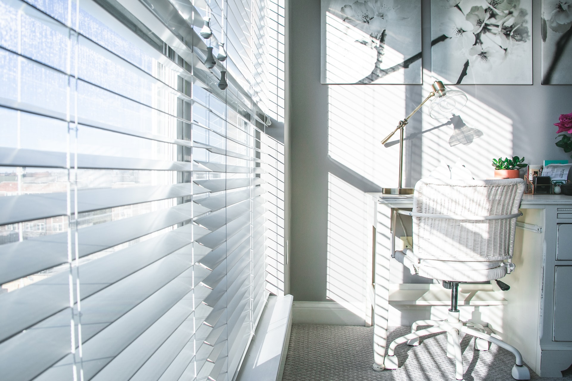 Window blinds in a Fort Myers, FL home