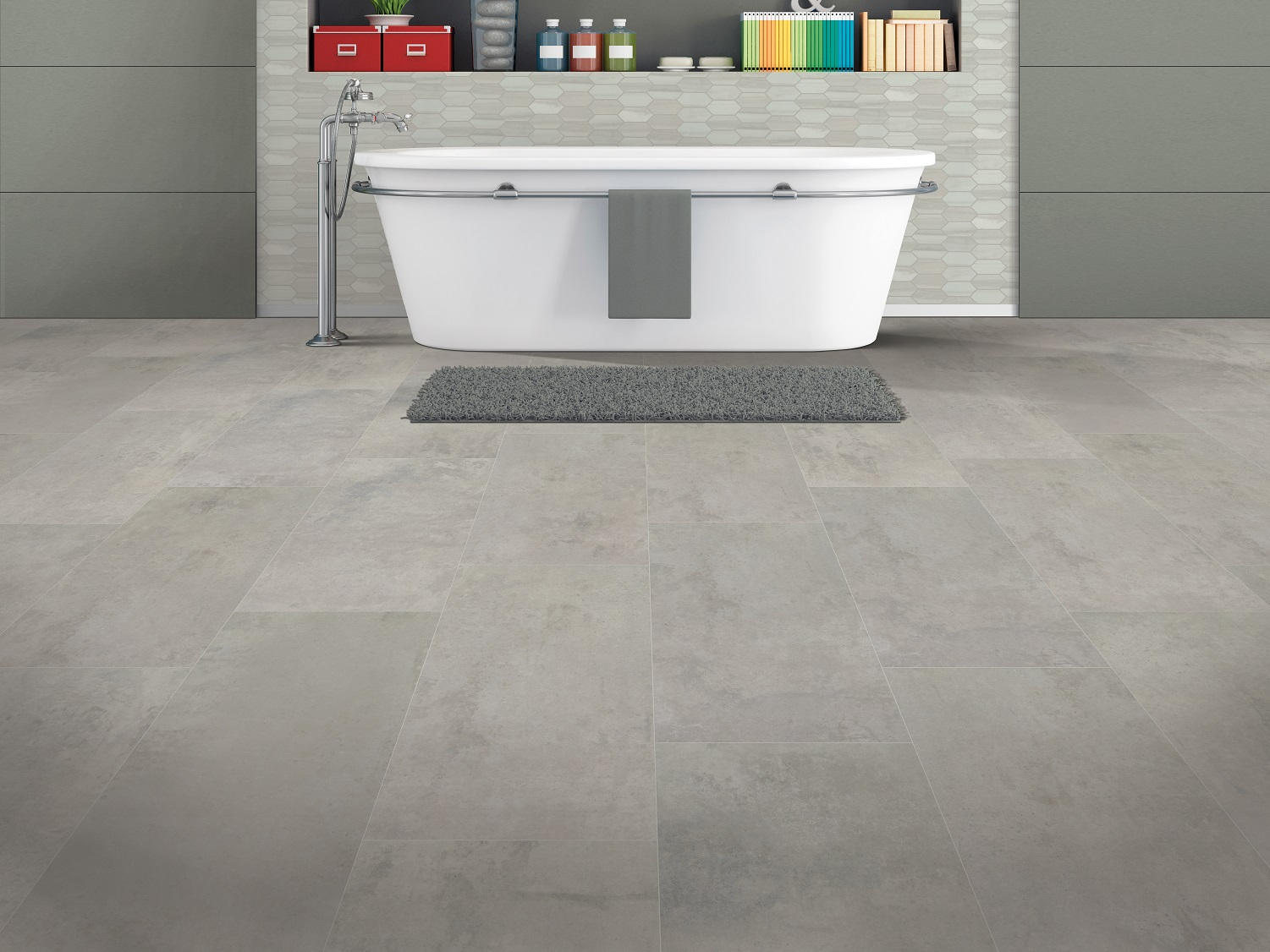 Does Luxury Vinyl Tile Need To Be Grouted, Groutable Vinyl Tile In Bathroom
