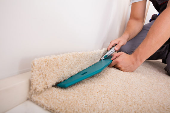 Carpet installation in the Portland area by Marion's Carpet Warehouse