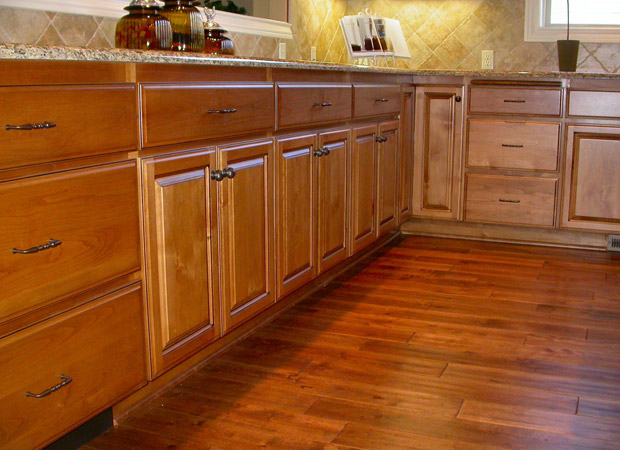 Hardwood flooring installation from Marion's Carpet & Flooring Warehouse in Portland, OR