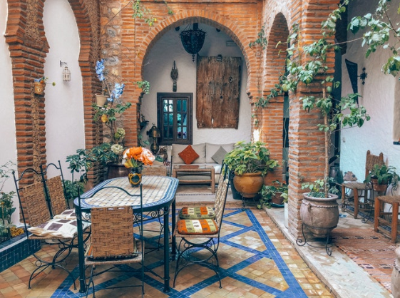 Brick patios