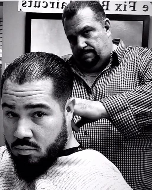 Hair Trimming at Main Street Barbershop
