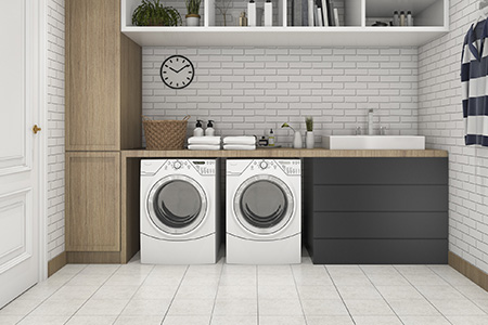 Flooring Is Best For A Laundry Room, What Is The Best Flooring For A Laundry Room