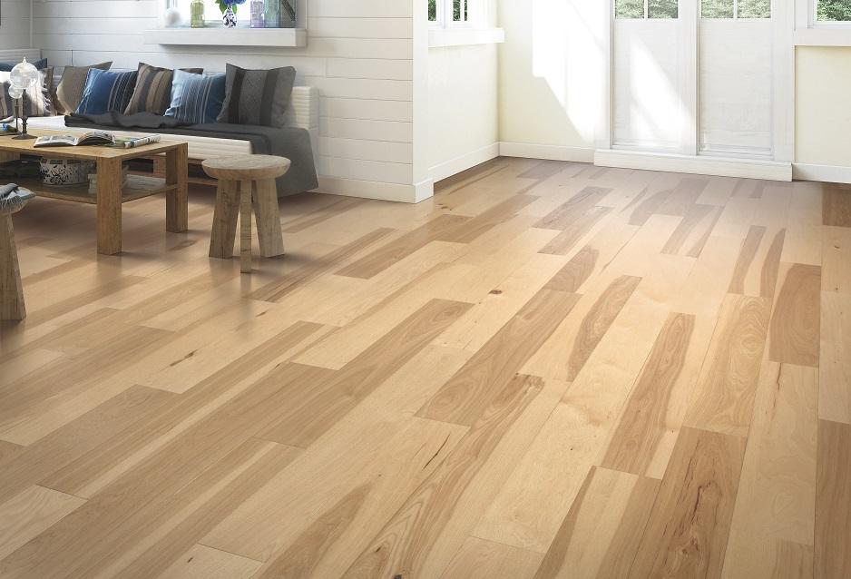 Textured hardwood flooring in a North Ridgeland Hills home