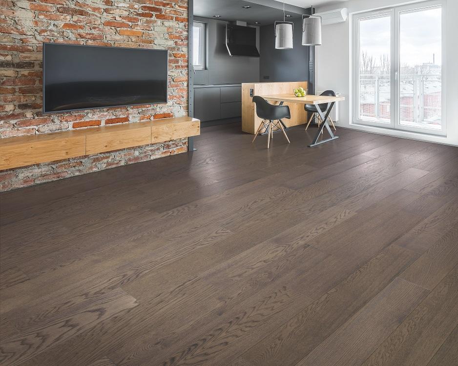 Beautiful hardwood flooring in a Keller, TX home