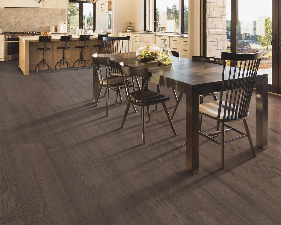 Durable hardwood flooring in a Keller, TX home