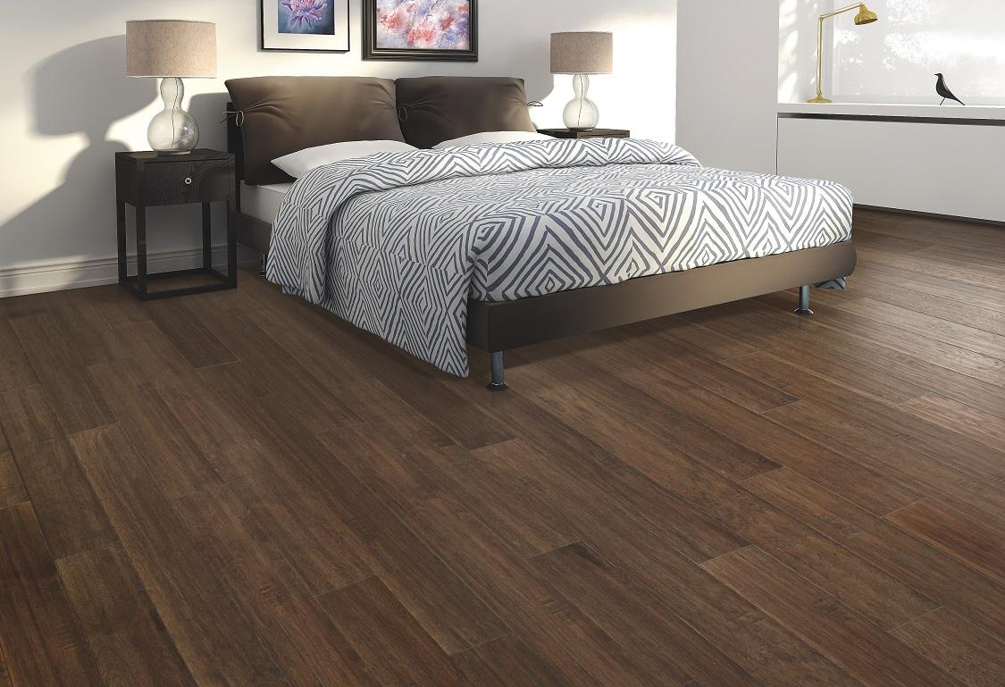 Clean hardwood flooring in a Keller, TX home from Masters Flooring