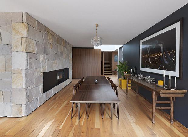 Mixed width hardwood flooring in a Keller, TX home from Masters Flooring