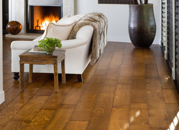 Hardwood flooring from Kelly's Carpet Omaha in Omaha, NE