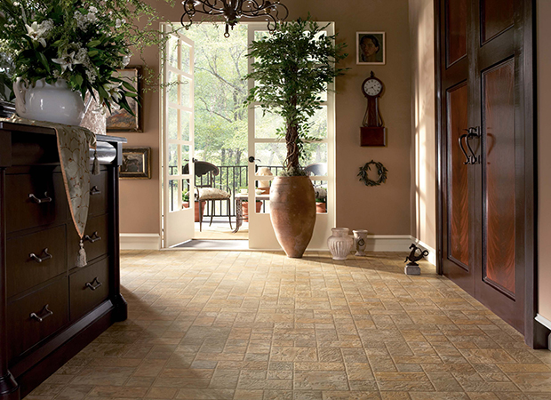 Luxury vinyl tile in Omaha, NE from Kelly's Carpet Omaha