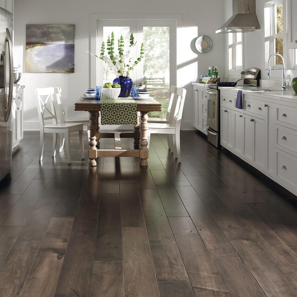 Hardwood Floors for kitchen from A E Howard Flooring near Hennessey OK