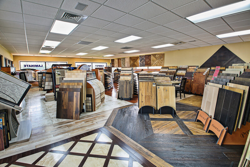 Flooring samples in Cincinnati OH from Bush Flooring Center