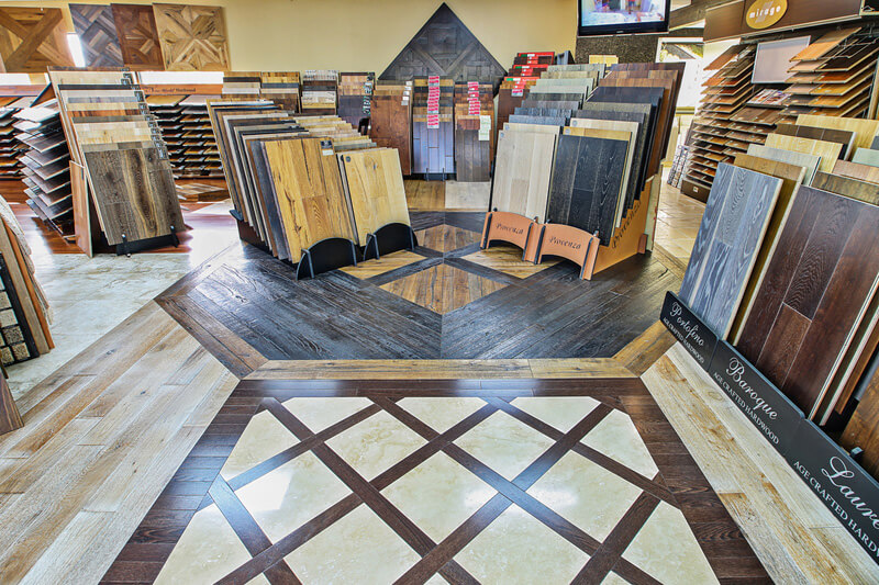 Floor samples in Montgomery OH from Bush Flooring Center