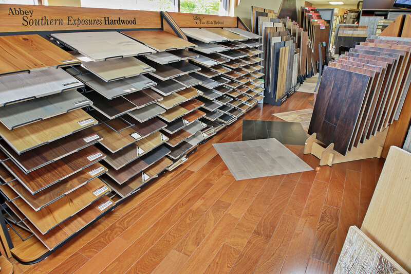 Floor samples in Loveland OH from Bush Flooring Center