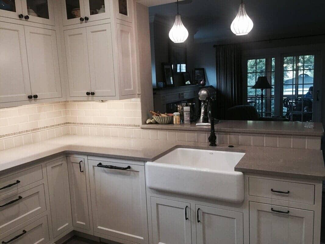 Bathroom remodeling in La Grange IL by Desitter Flooring