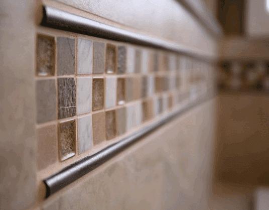 Custom backsplash installation in Clarendon Hills IL by Desitter Flooring