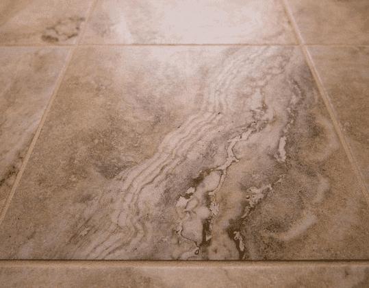Natural stone floor installation in Lisle IL by Desitter Flooring