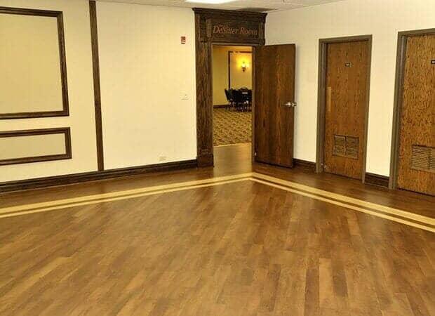 Custom hardwood floor installation in Elmhurst IL by Desitter Flooring