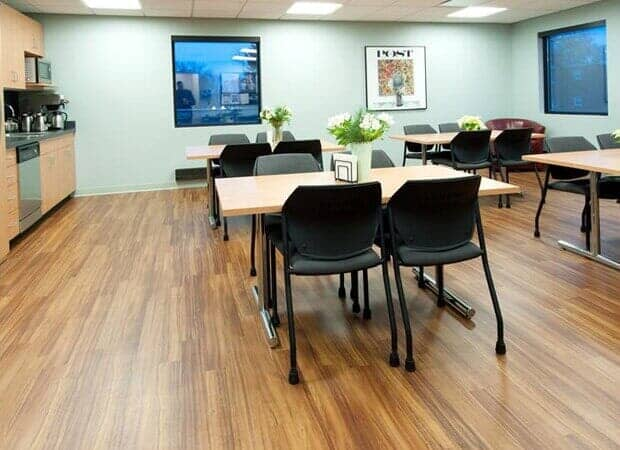 Hardwood floor installation in Burr Ridge IL by Desitter Flooring
