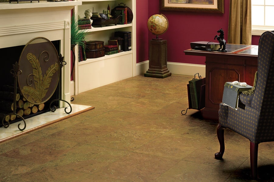 Eco-friendly flooring options such as cork in Paris KY from Oser Paint & Flooring