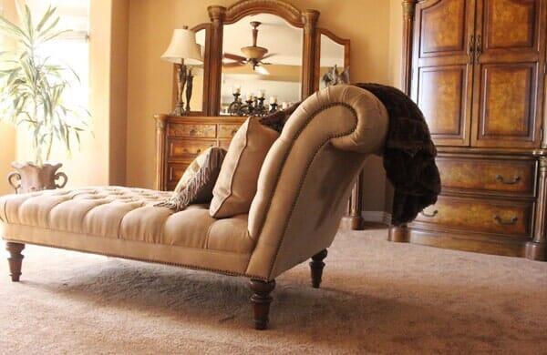 Luxury bedroom makeover in Rancho Penasquitos CA from Metro Flooring