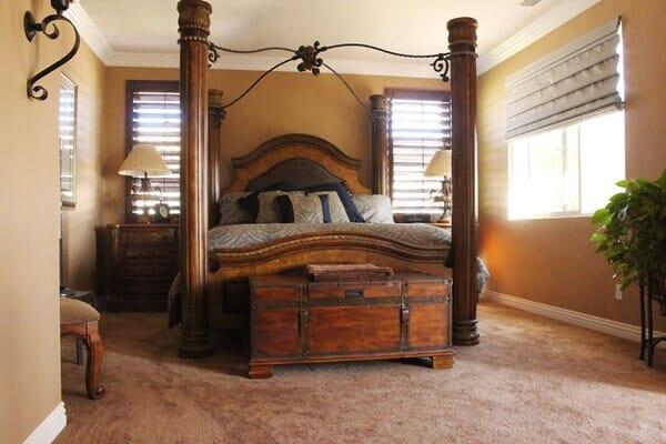 Bedroom remodeling in San Diego CA from Metro Flooring