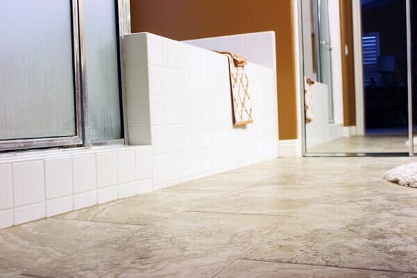 Custom bathroom tile installation in San Diego CA by Metro Flooring