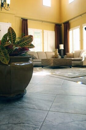 Traditional ceramic tile floor installation near Scripps Ranch CA by Metro Flooring