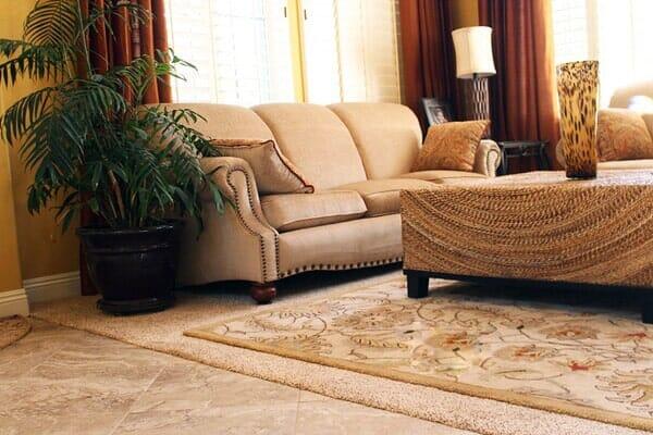 Living room flooring near Rancho Penasquitos CA by Metro Flooring