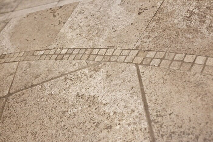 Custom tile floor installation near Poway CA by Metro Flooring